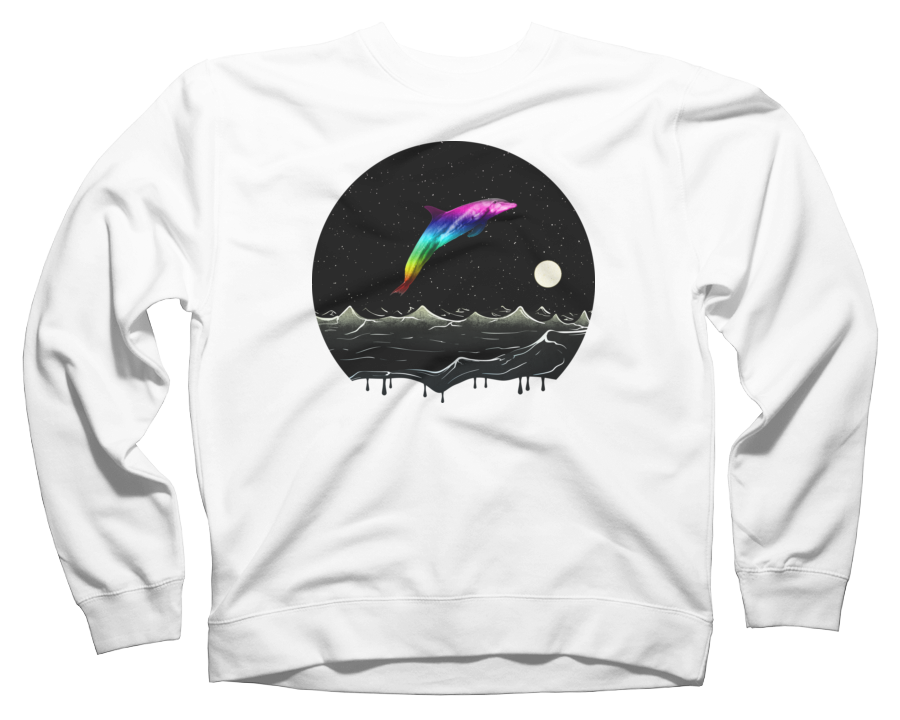 Night Swimming Crew Neck Sweatshirt
