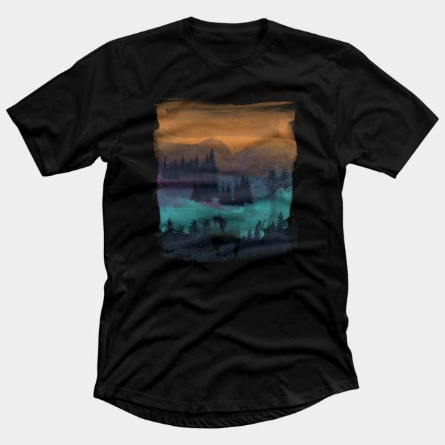 The great outdoors t shirt by gloopz design by humans The great t shirt