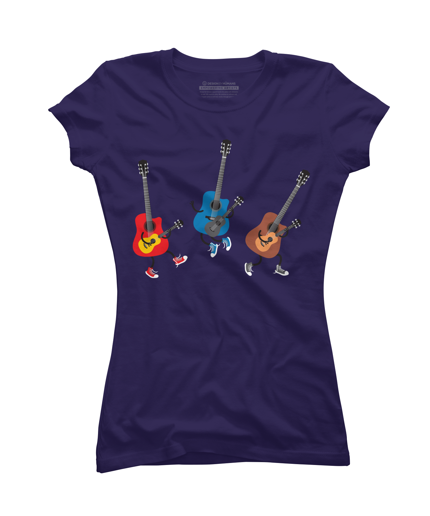 Dancing guitars Juniors T Shirt