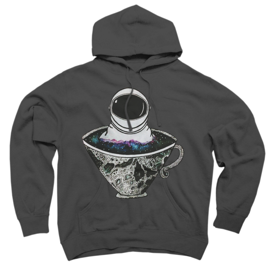 A Cup of Space Pullover Hoodie Sweatshirt 303528