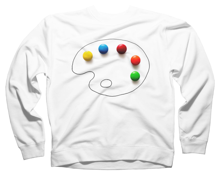 Artists chocolate Crew Neck Sweatshirt